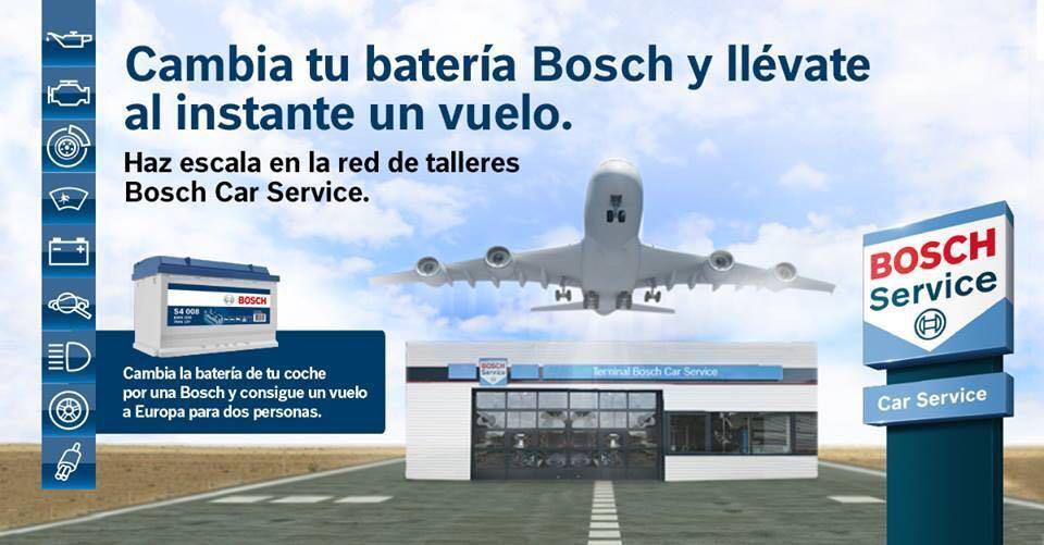 vuelo gratis bosch car service